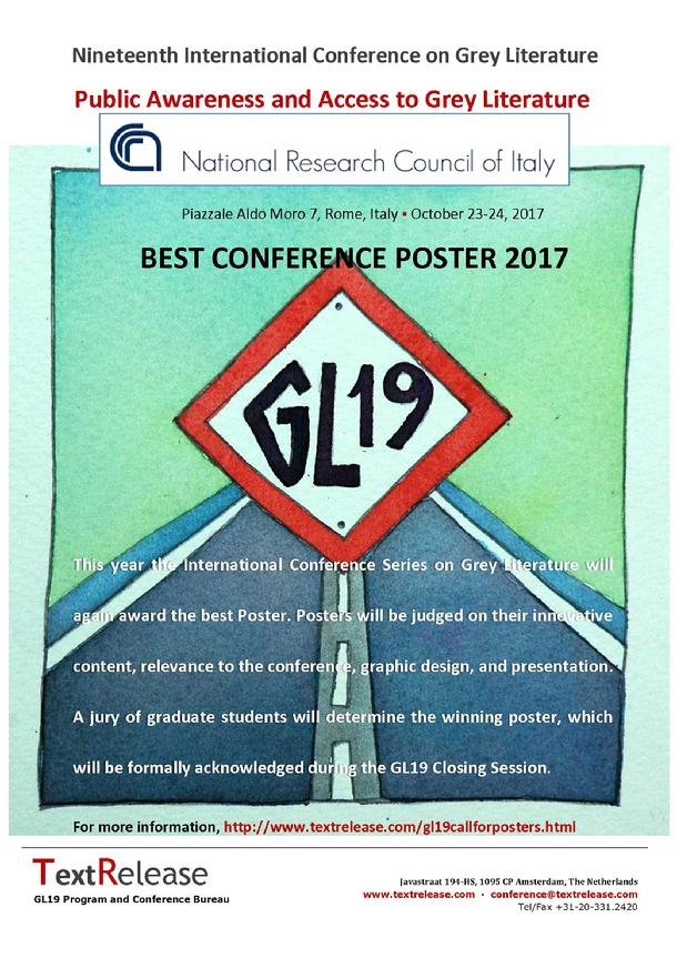 Best Conference Poster 2017