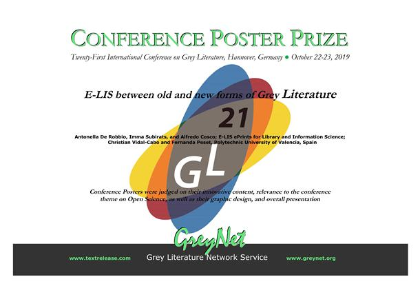 Poster Prize 2019